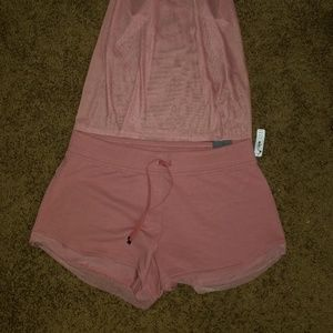 Victoria Secret Sports Shorts and Tank Top NWT
